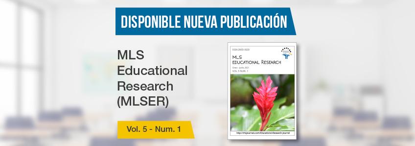 La revista MLS Educational Research, patrocinada por FUNIBER, publica nuevo número