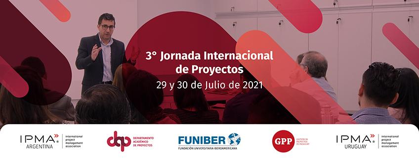 Tercera Jornada Internacional de Proyectos organizada por FUNIBER
