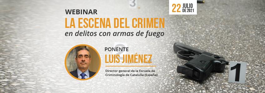 Webinar sobre armas de fuego en la escena del crimen organizado por FUNIBER