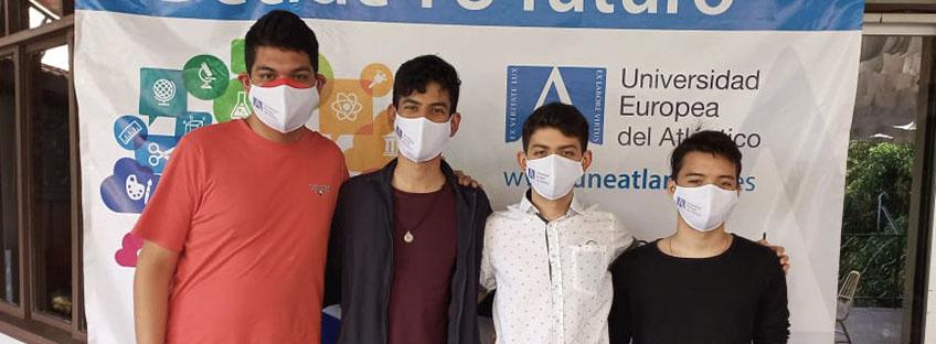 FUNIBER organiza acto de bienvenida a alumnos hondureños que cursarán estudios en UNEATLANTICO