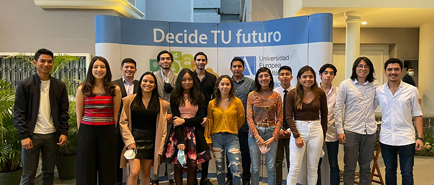 FUNIBER participa en acto de despedida a alumnos de Guatemala que iniciarán estudios en UNEATLANTICO