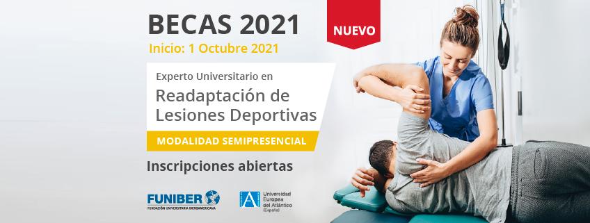 FUNIBER patrocina el nuevo programa de Experto Universitario en Readaptación de Lesiones Deportivas