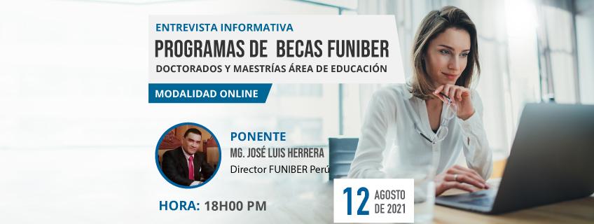 FUNIBER organiza sesión informativa de becas en Perú