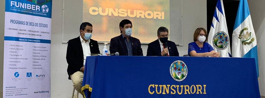 FUNIBER visita el Centro Universitario Sur Oriente (CUNSURORI) de Guatemala