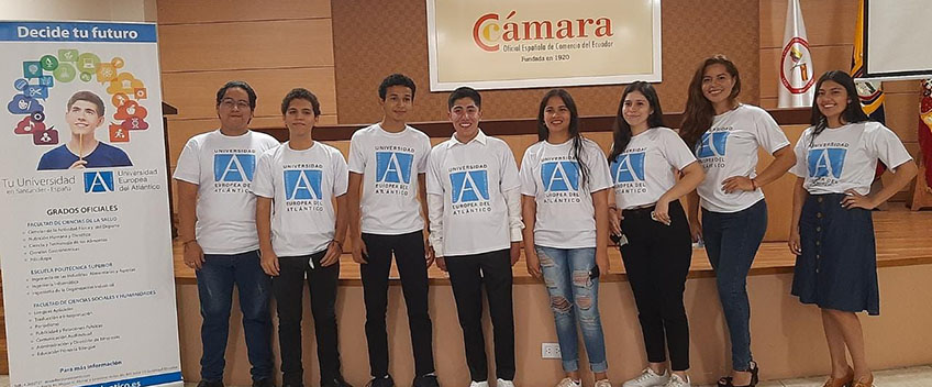 FUNIBER realiza acto de despedida para alumnos ecuatorianos de los grados presenciales de UNEATLANTICO