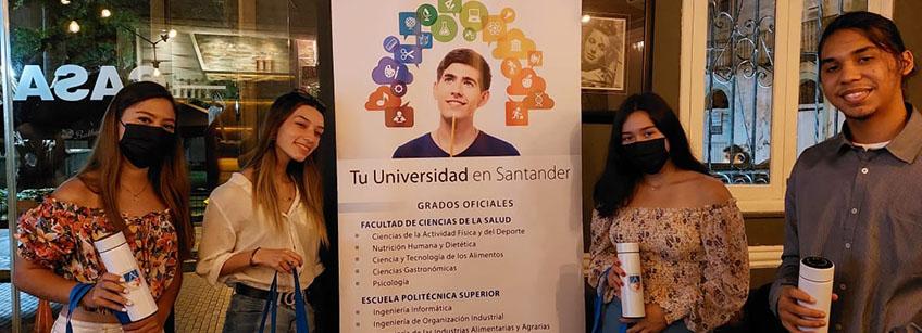 FUNIBER celebra despedida de estudiantes panameños que cursarán estudios en UNEATLANTICO