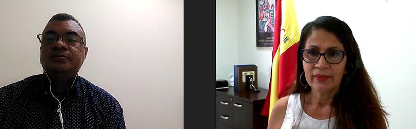 Reunión virtual entre FUNIBER y la Asociación de Psicólogos de Panamá