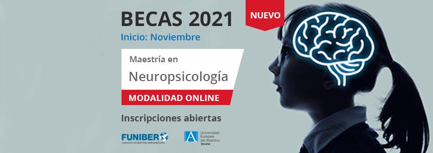 FUNIBER ofrece becas para cursar el nuevo programa de Maestría en Neuropsicología