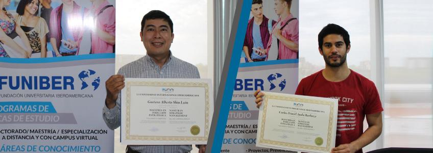 FUNIBER entrega títulos a estudiantes egresados de Paraguay