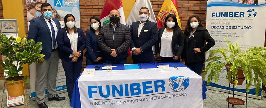 FUNIBER firma convenio con la Asociación Peruana de Psicología del Deporte y del Ejercicio