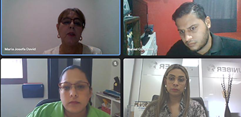 FUNIBER realiza reunión virtual con la Universidad Jesús de Nazareth de Honduras