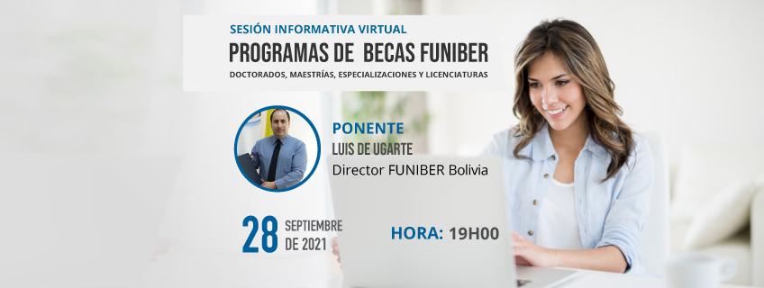 FUNIBER organiza sesión informativa virtual de becas en Bolivia