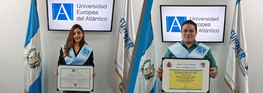 Alumnos de Guatemala reciben su título