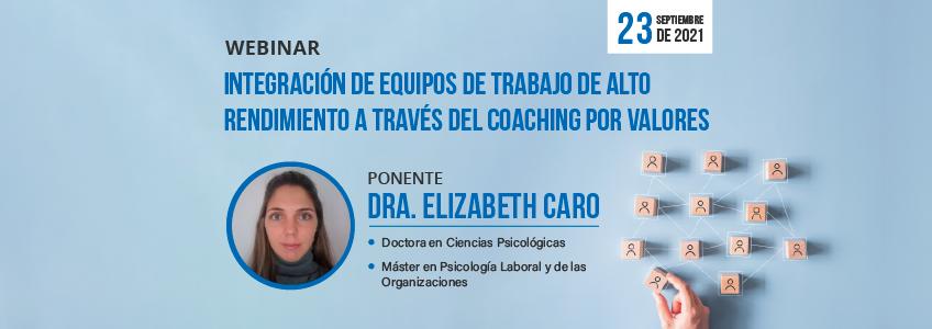 Webinar sobre coaching en equipos de trabajo organizado por FUNIBER